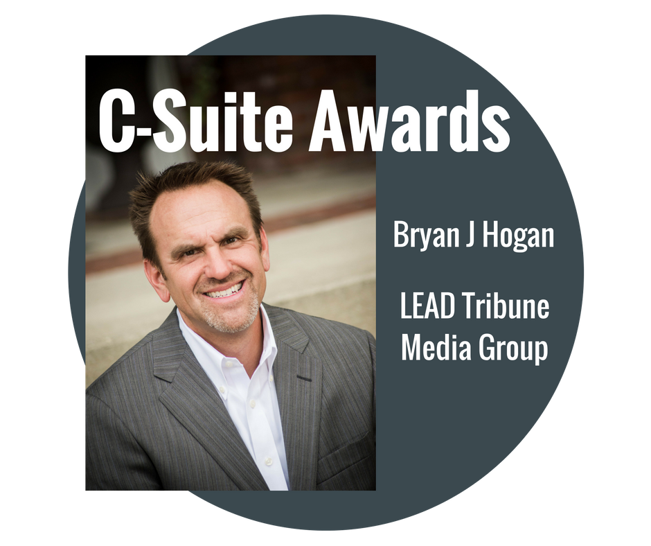 Bryan Hogan, C-Suite Awards Class, 2016 by LEAD Magazine