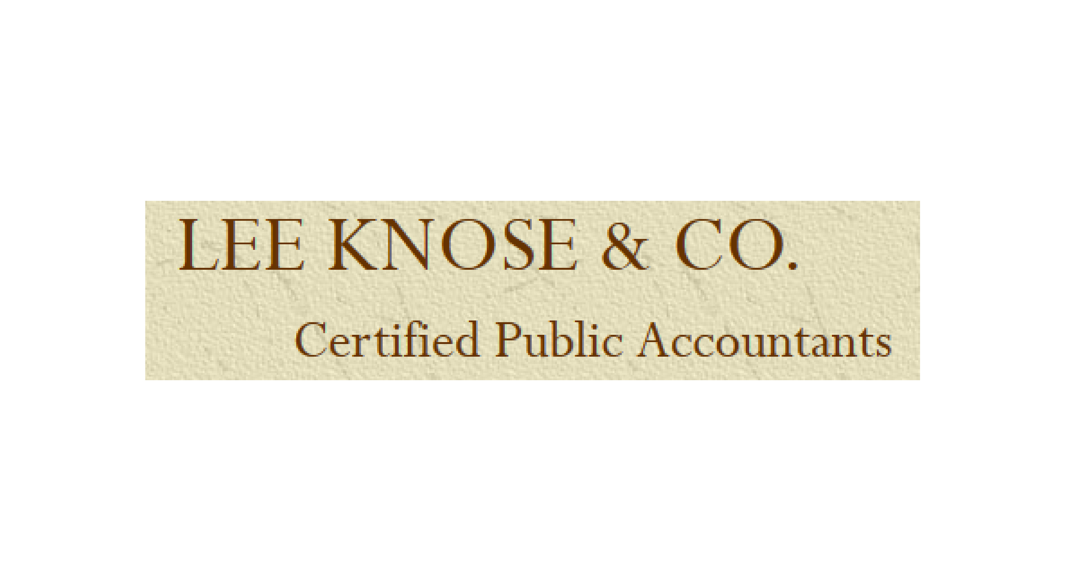 Lee Knose & Co.png