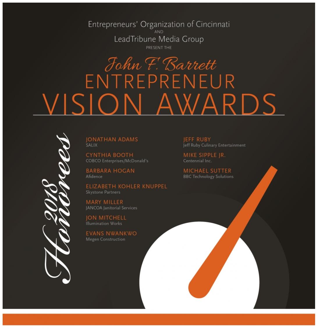 John F. Barrett Entrepreneur Vision Awards