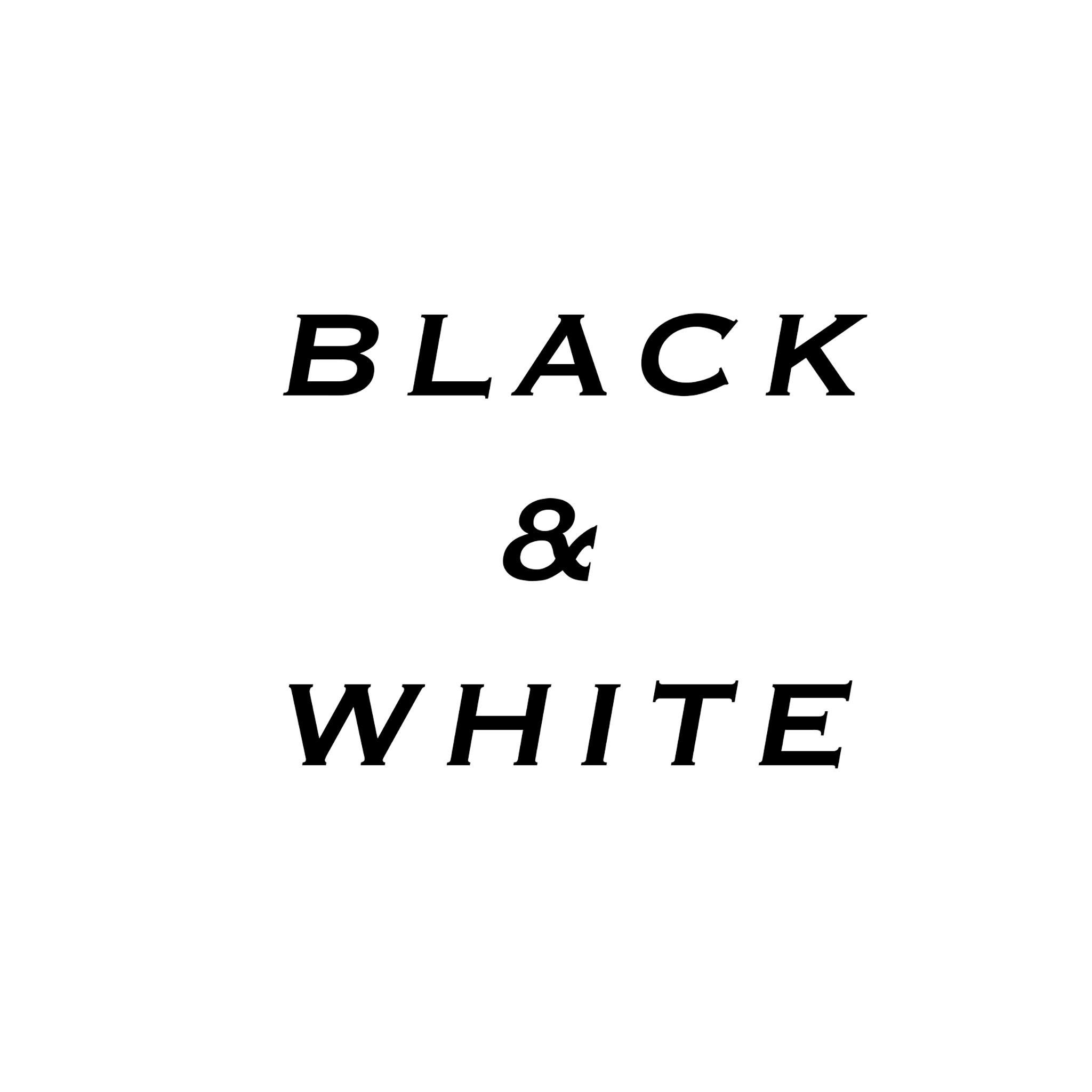 Black and White Images