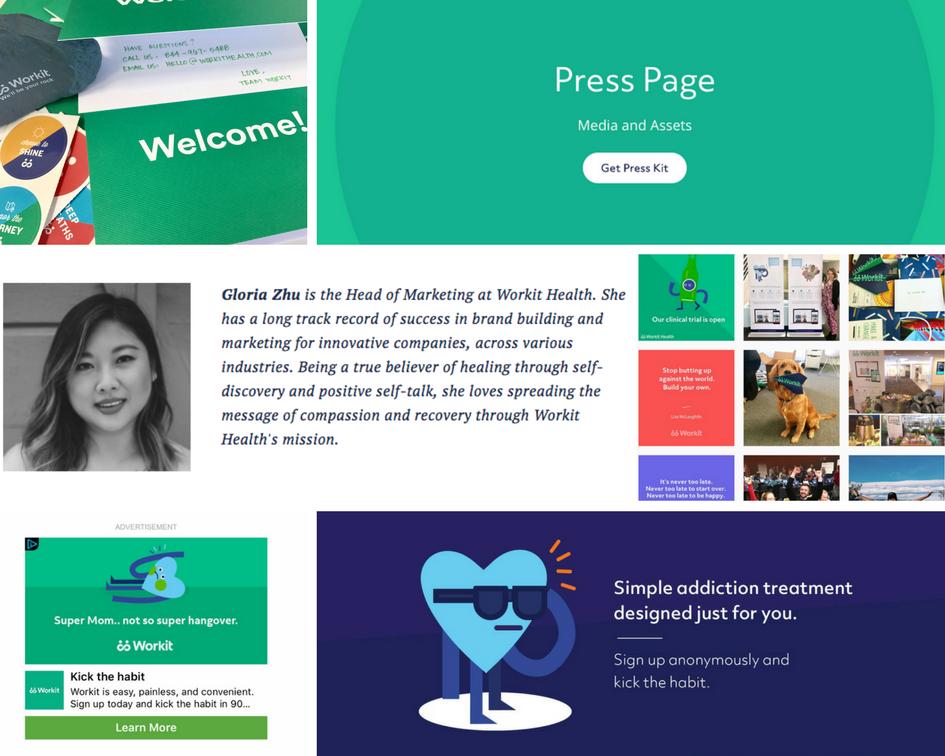 workit health marketing portfolio