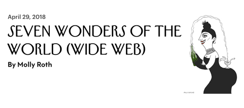 The Wonders of the Web for the New Yorker Daily Shouts blog