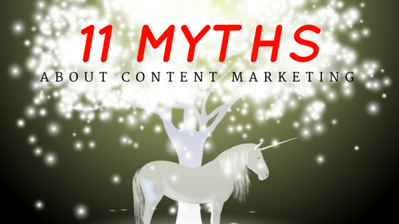 11 Myths about Content Marketing | SunShark Media