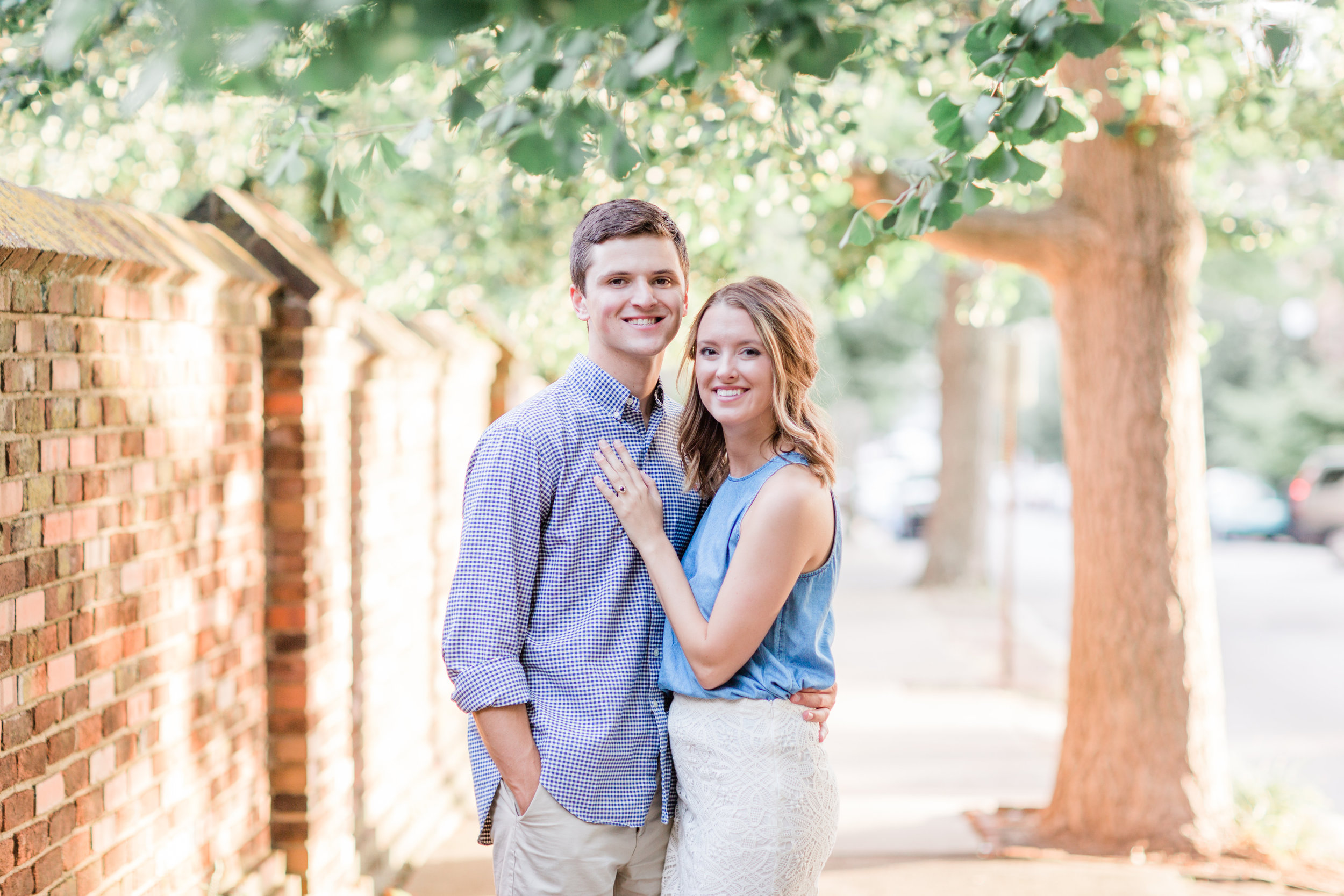 This beautiful Spring 2018 golden hour engagement session was in the heart of downtown Lexington. I hope you all enjoy and stick around for their wedding post in a few weeks.