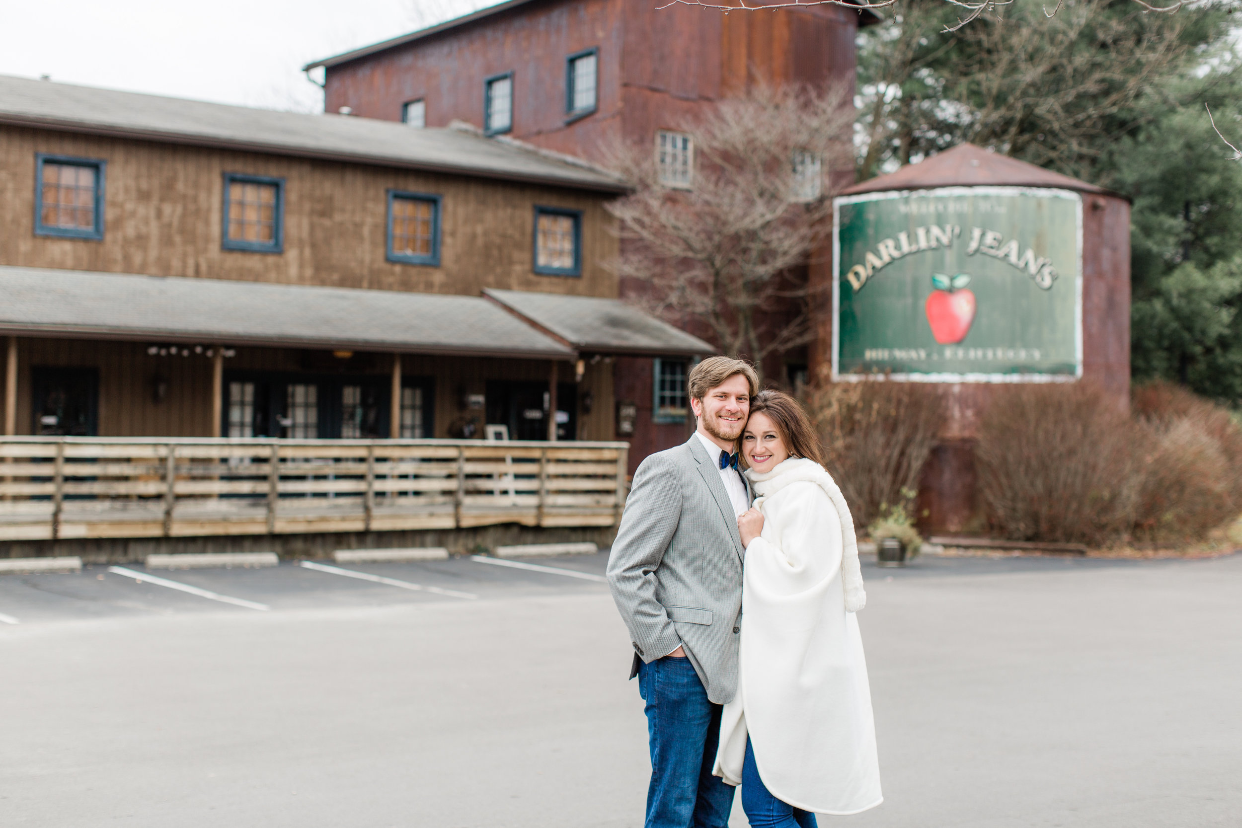 This snuggly winter engagement session took place in Midway, Kentucky. We hit all of Andrew and Blaire's favorite places that have been very special to them during their dating and proposal. I don't normally love winter engagement sessions because it's so cold, but these two were SO fun (just look at all the giggles) and very sweet with each other, they made it worth every trip to the car to warm back up, haha. I hope you all enjoy these pictures and stay on the look out for their wedding that is happening later this summer.