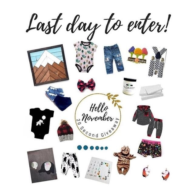 Last day to enter for a chance to win over $550 worth of small shop goodies!!! It's quick - just go to @forthesmall.giving and follow their following! #ftsbizlove