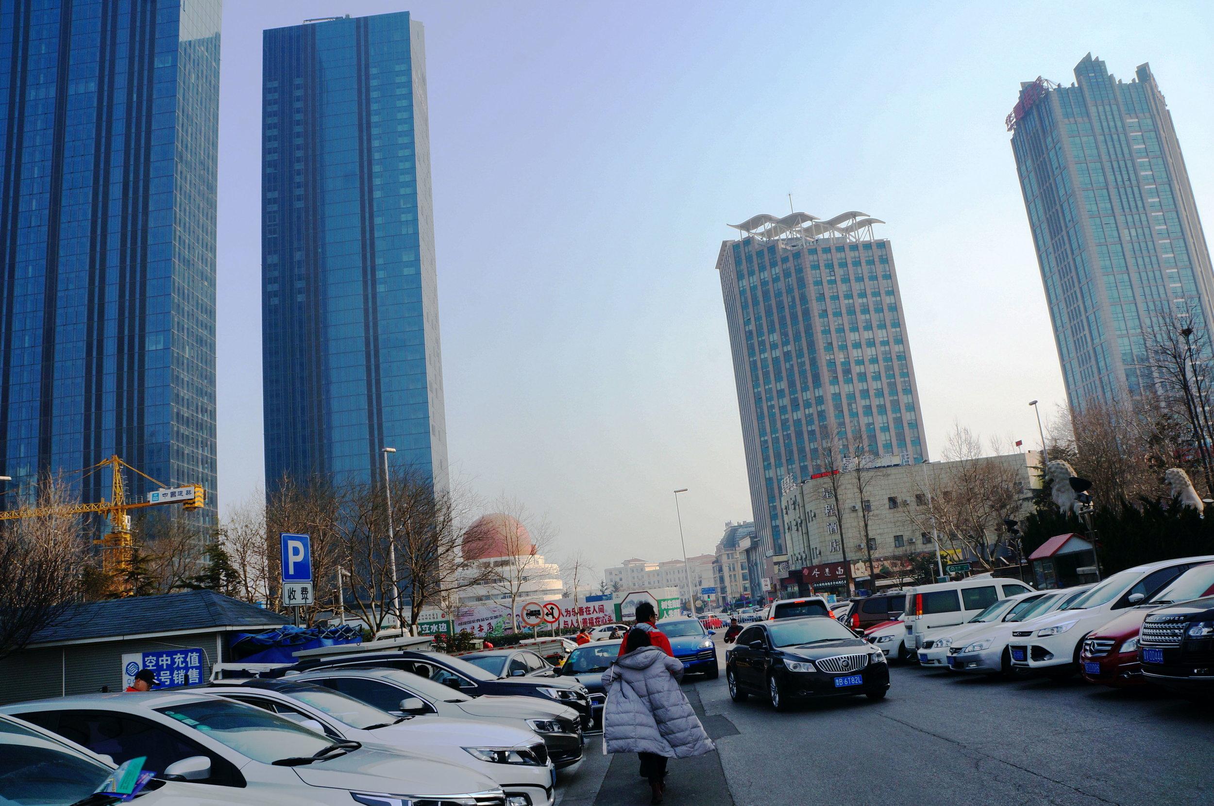Motiv 1 - Geschäftsviertel - business district