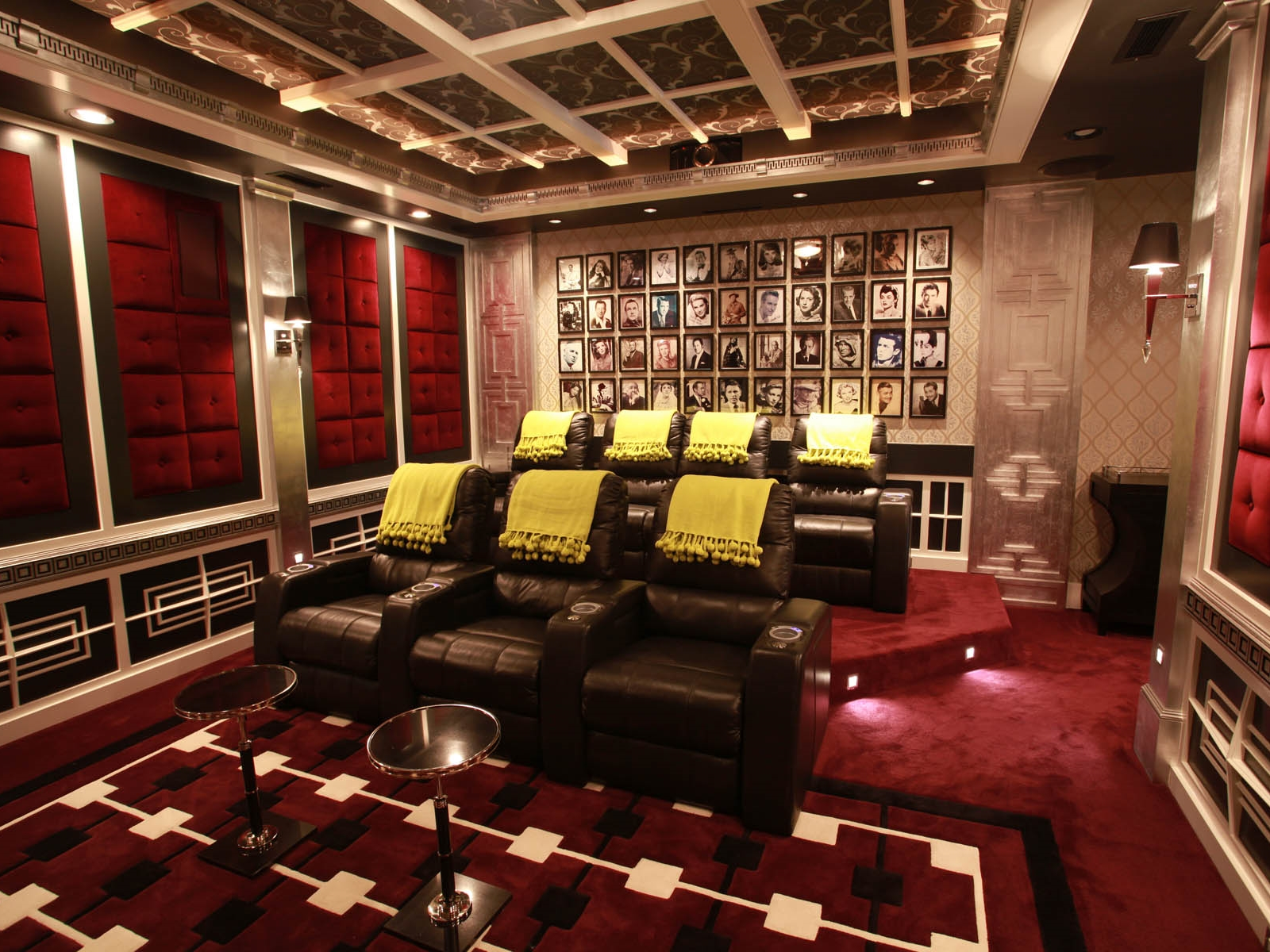 HOLLYWOOD REGENCY THEATER AND GAME ROOM