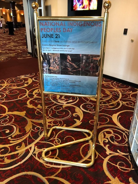 Additional events hosted at  Casino Regina .