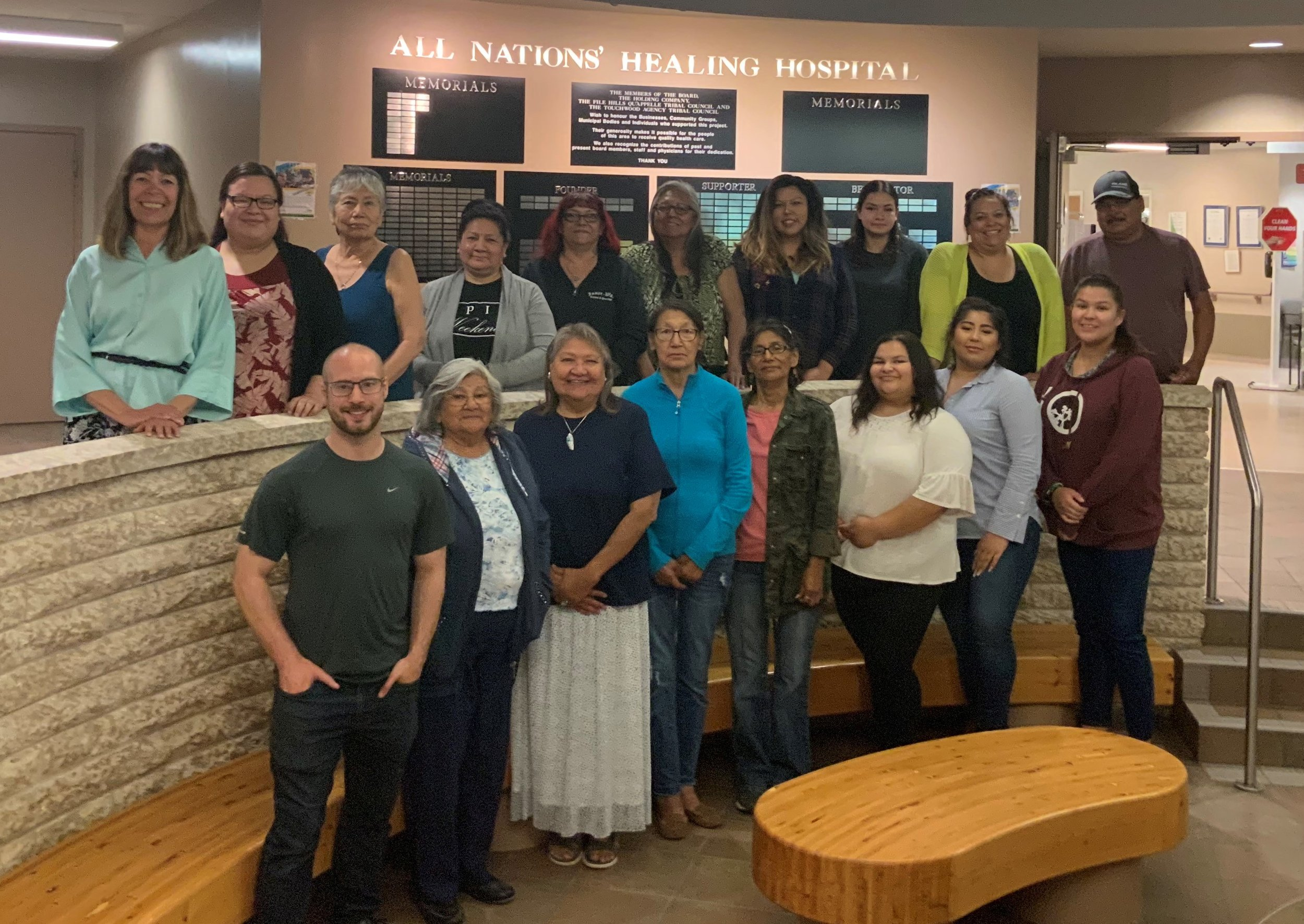 Morning Star lodge staff and the fhqtc community research advisory committee (Crac)