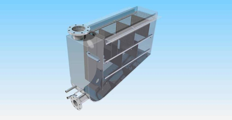CAD CONCEPT: 316 Stainless Steel Tank Weldment