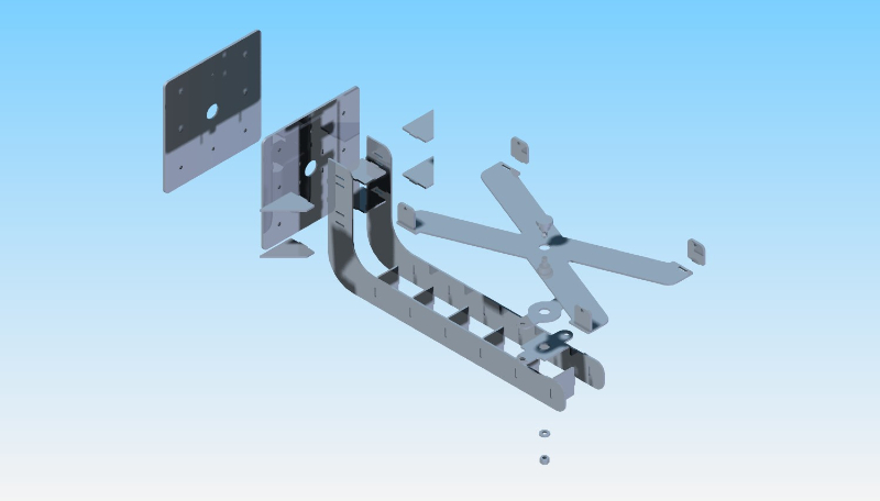 CAD CONCEPT: Rotary Welding Jig / Lasered