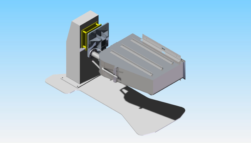 CAD CONCEPT: Rotary Welding Positioner