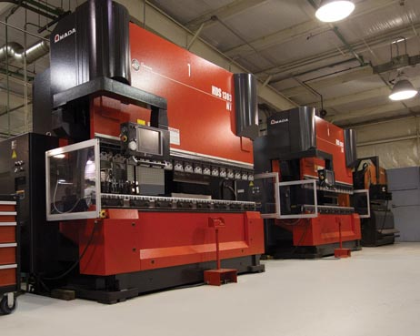 Amada HDS 1303 NT - 10ft with quick change set-up