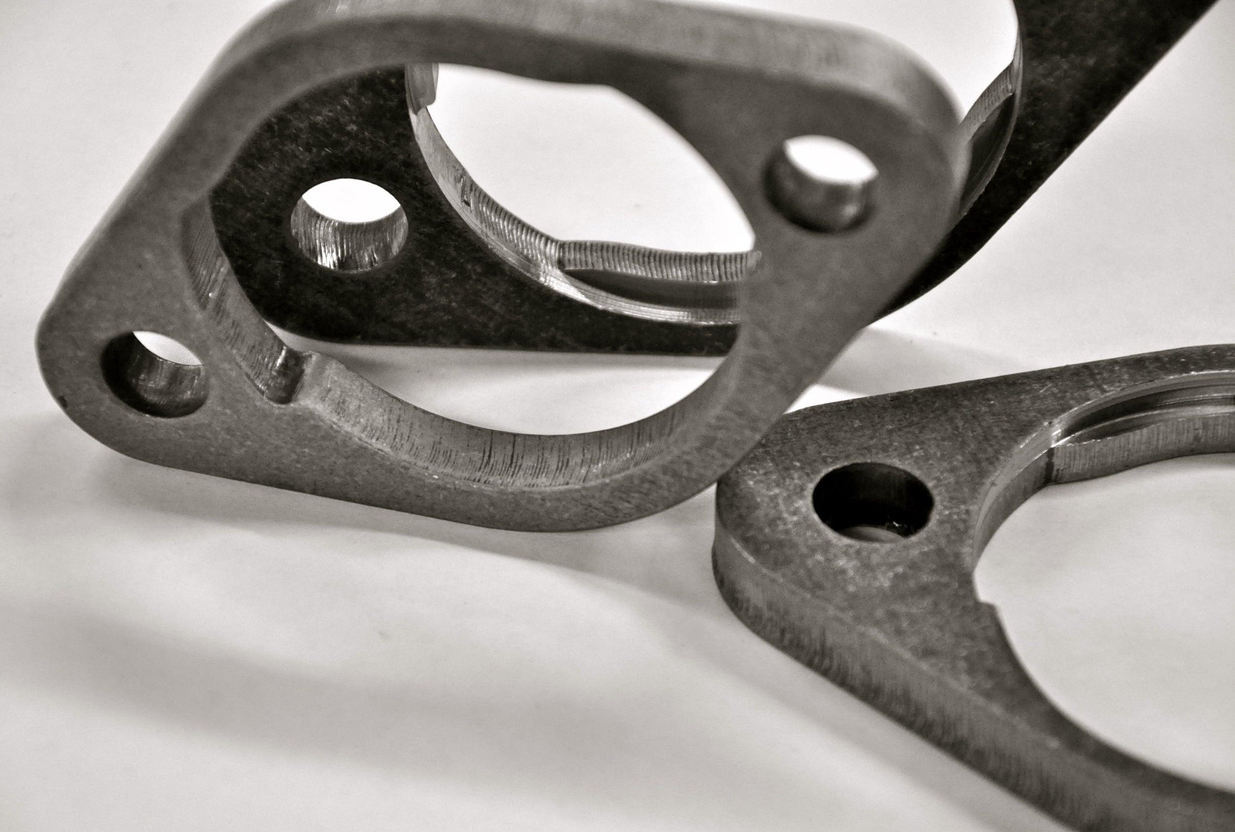 Laser & CNC Milled Part