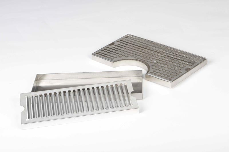 Brushed Stainless Steel Parts