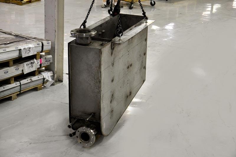 Leak Tested Stainless Steel Tank Weldment