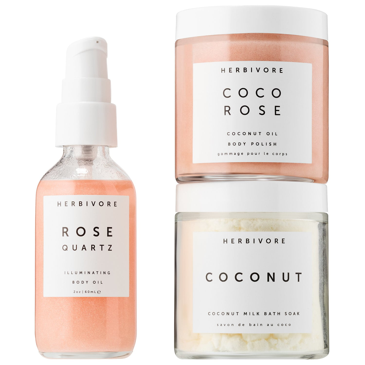 HERBIVORE Self Love Bath + Body Ritual Kit $36.00 This is a really easy and cute gift. Pop into your nearest Sephora or order it online and wrap it and your done! Thats the beauty of gift sets like this. They are so cute and people will love them. I love this idea cause this is stuff people wouldn't really think to buy themselves but they will love having it!   https://www.sephora.com/product/self-love-bath-body-ritual-kit-P438369?icid2=products%20grid:p438369:product