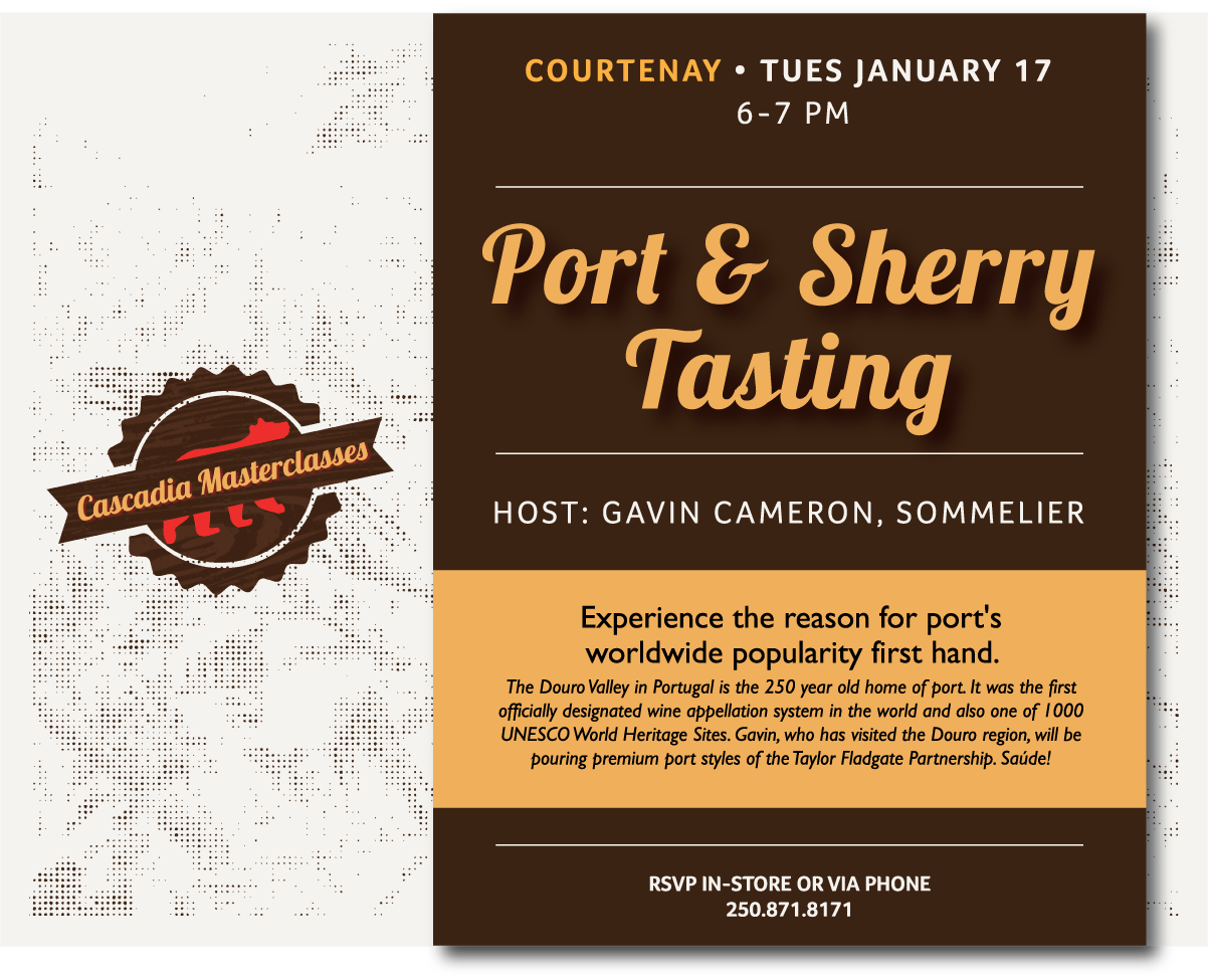 PORT & SHERRY MASTERCLASS