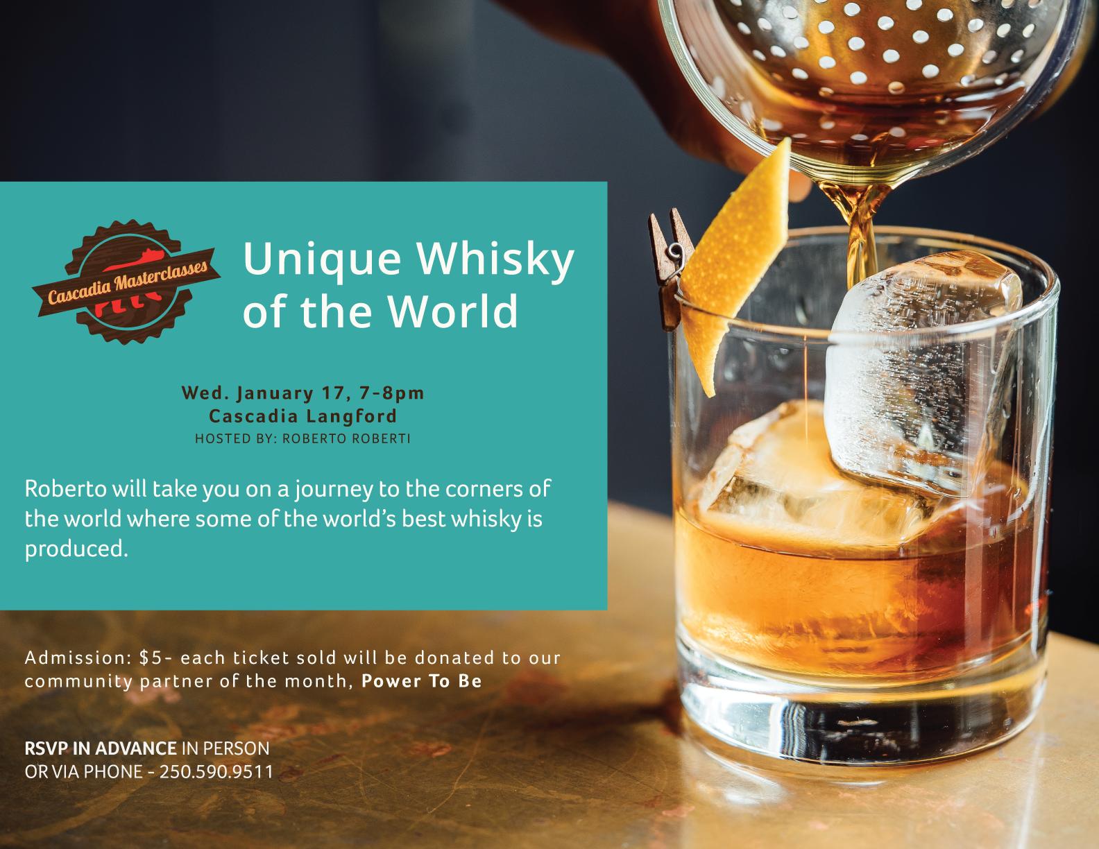 unique whisky