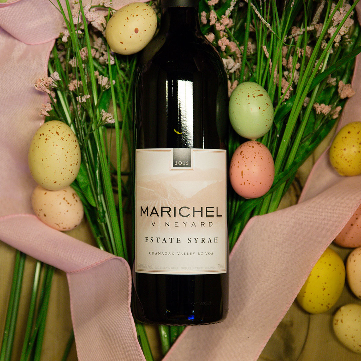 Marichel Estate Syrah - Serving a boldly flavoured roast lamb for dinner? Match those big flavours with an equally big wine. This syrah is bursting with dark berries, plum, a leathery, smoky finish and refined tannins.$39.49 (750 ml) Okanagan Valley, BC