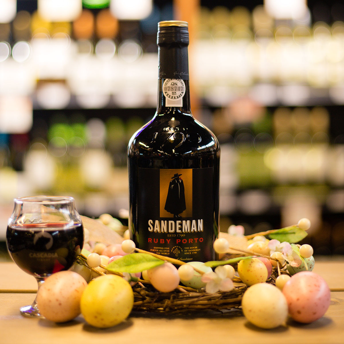 Sandeman Ruby Port - Easter chocolates aren't just for the kids, so go ahead and indulge! Pair those treats with something equally sweet like this fresh and youthful ruby port, packed with cherry, raspberry, cinnamon, and subtle tannins.$22.99 (750 ml) Douro, Portugal