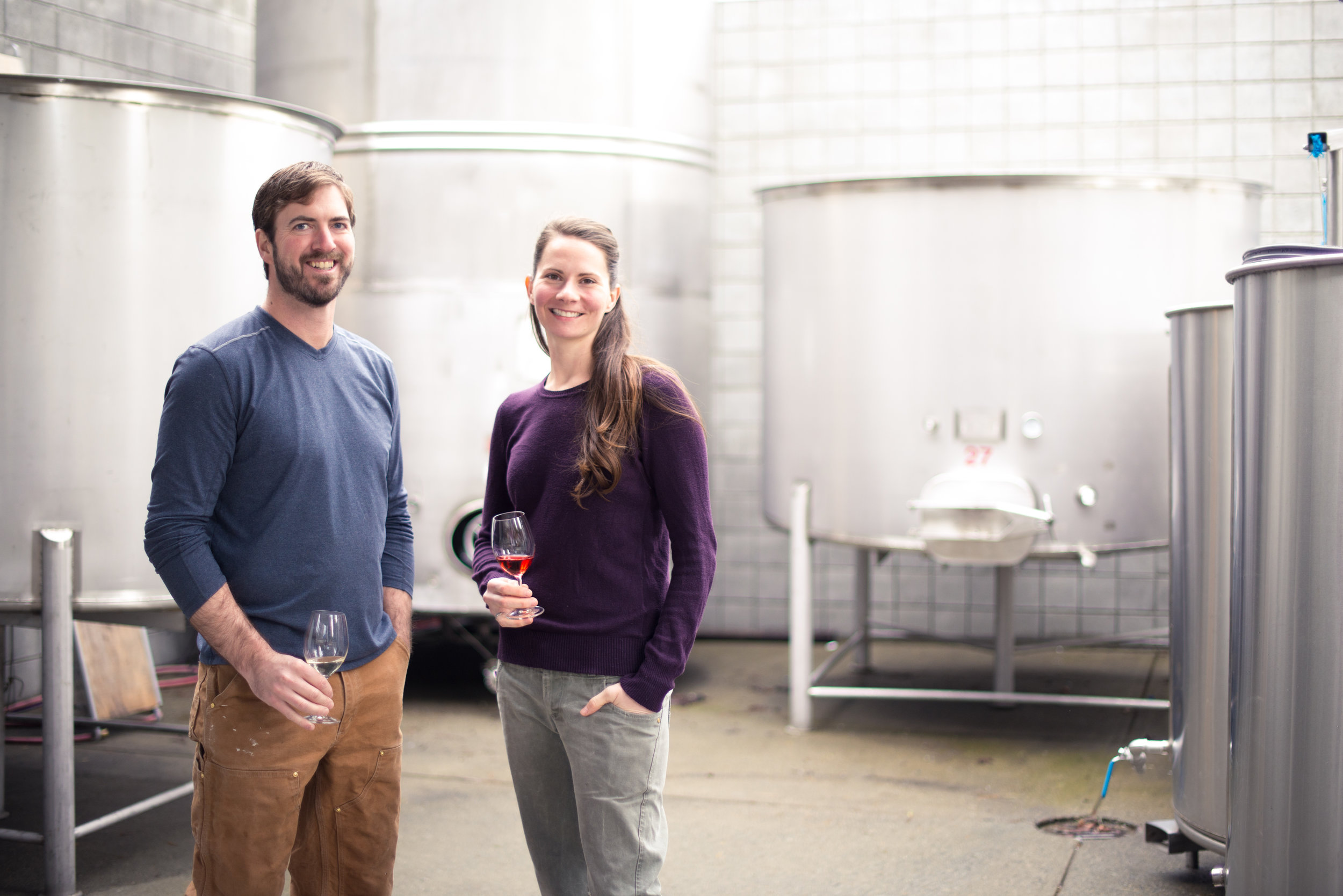 Daniel Dragert & Mira Tusz, Winemakers