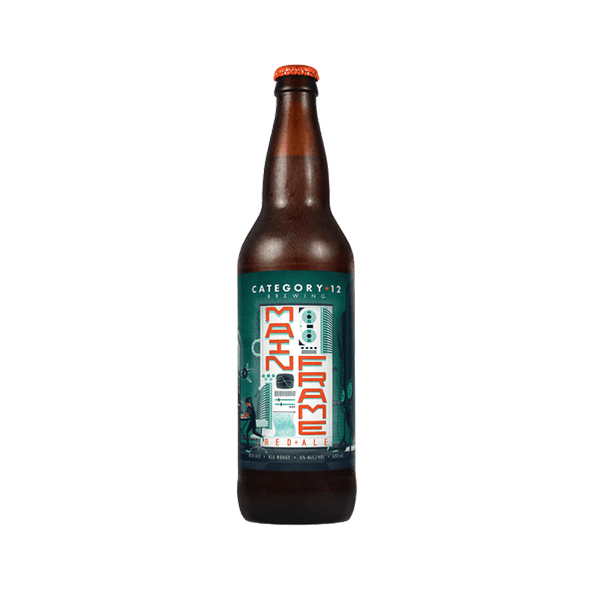 Category 12 BrewingMainframe Red Ale - Light + fruity with good malt balance$6.29, 650mlVictoria, BC