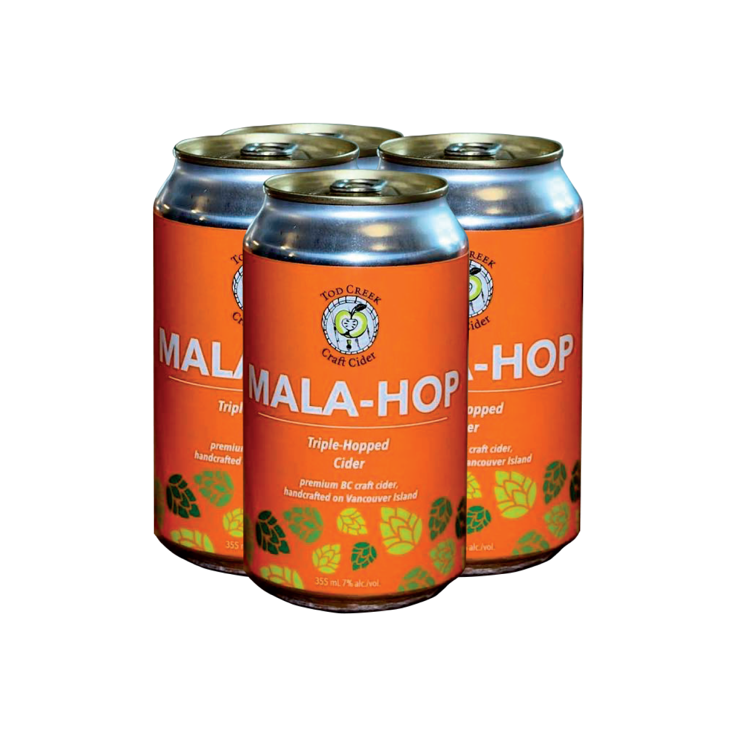 Tod Creek Mala-hop - Now available in can, this local favourite is designed for the beach. Dry with a refreshing hoppiness.$15.49 (4x355 ml)Victoria, BC