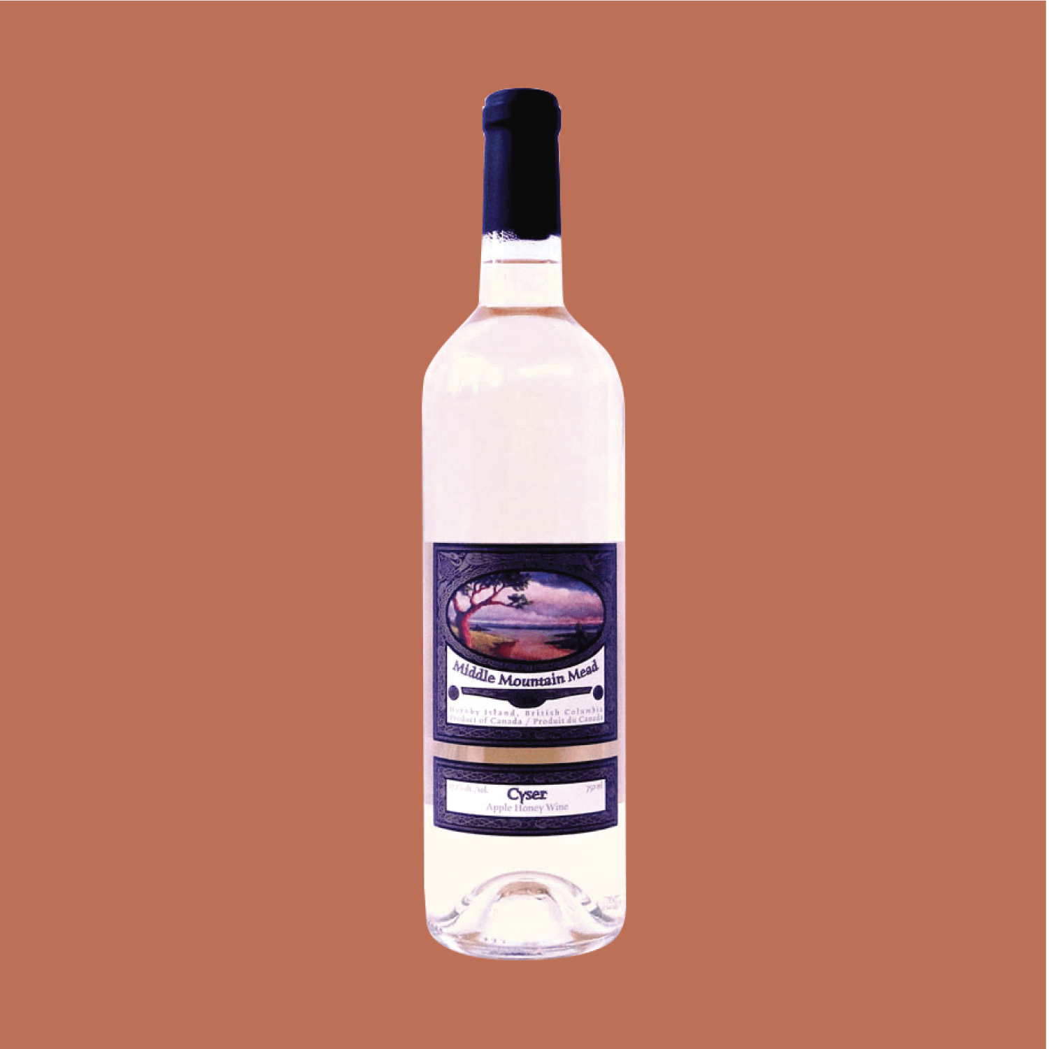 Middle Mountain Cyser - Honey-dipped apple flavours with overtones of sage and spice. A great accompaniment to your favourite summertime picnic foods.$24.99, 750 ml