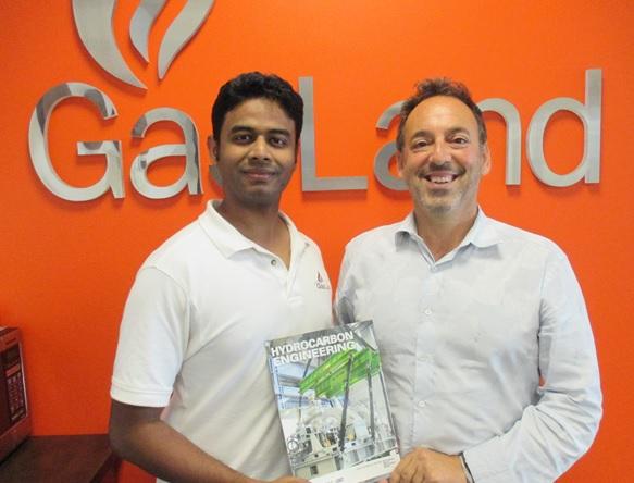 Engineer M. Sirajuddin (Left) & CEO Khalil N. Jaber, Jr. (Right)