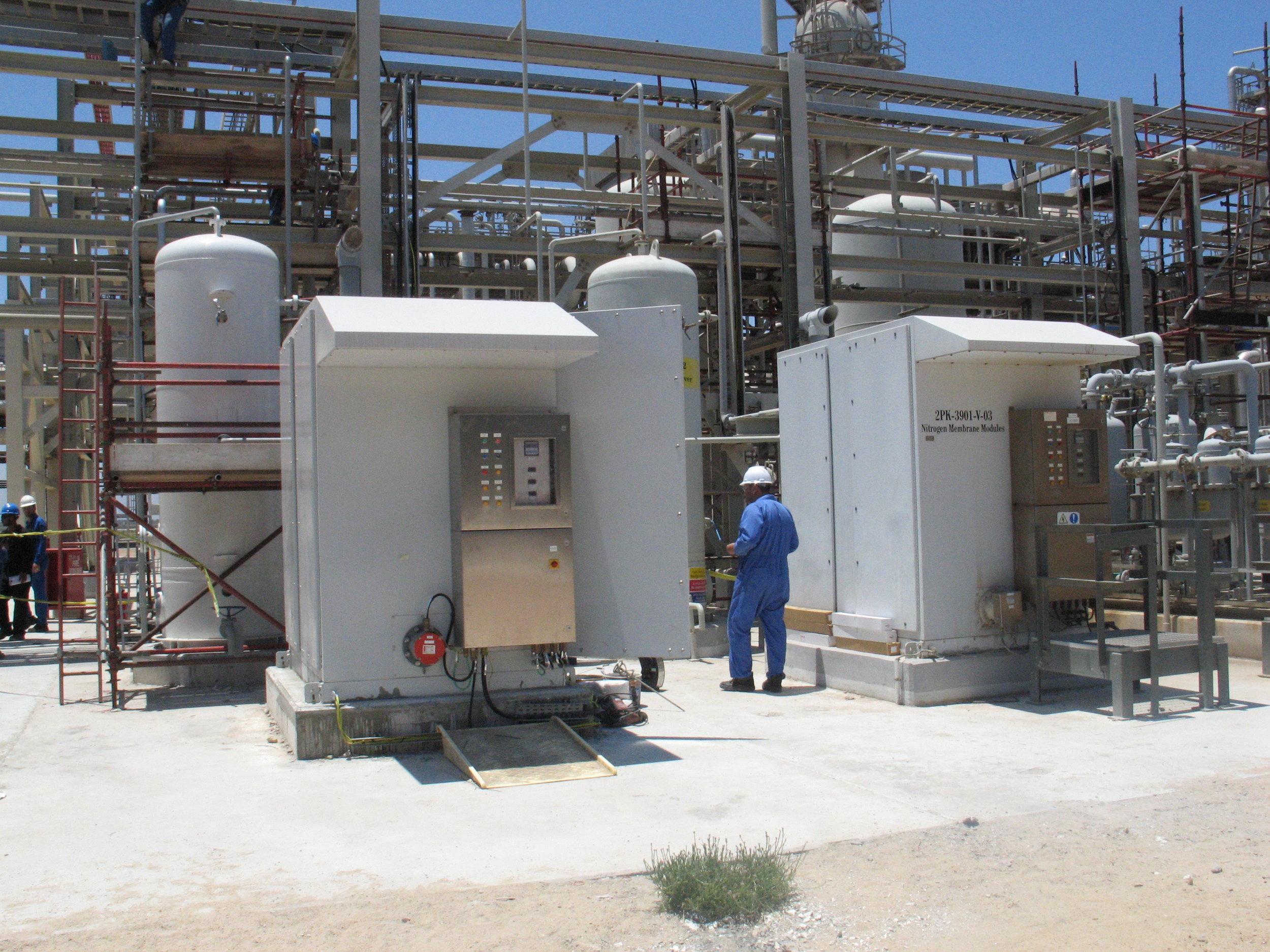 Early Gas Land Nitrogen Generation Systems