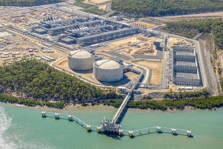 Courtesy: Australia Pacific LNG Plant