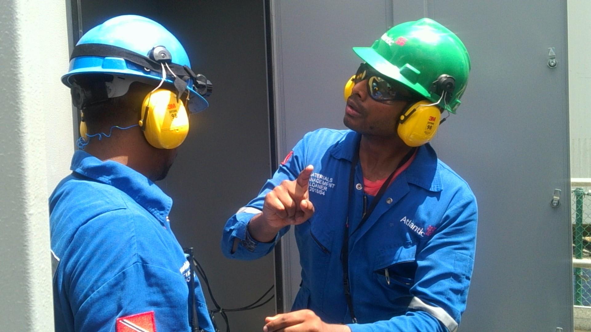 Gas Land Engineer M. Sirajuddin, Training Plant Personnel