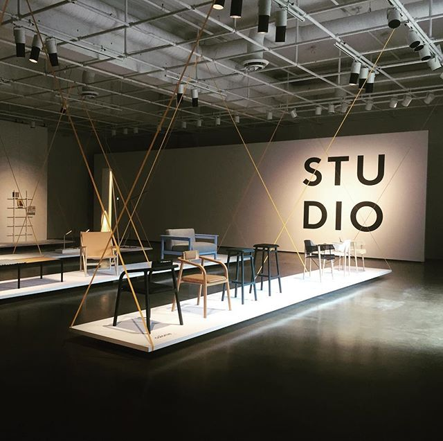Studio it is tonight from 5pm to 10 pm @uqam #design #montrealdesigner #steel #chair #newcollection coming over