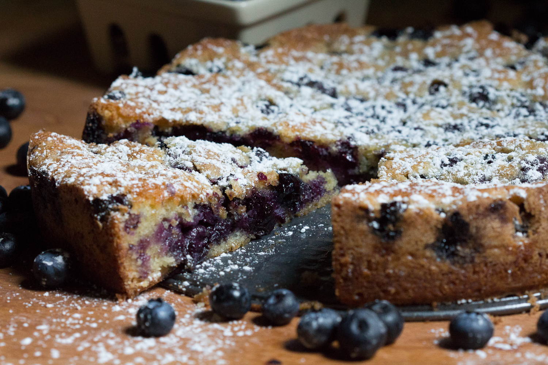 Blueberry Gateau