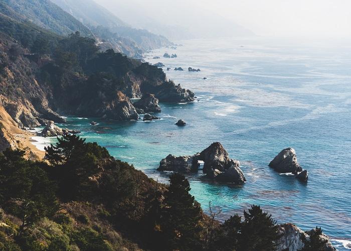 McWay Beach, Big Sur, CA