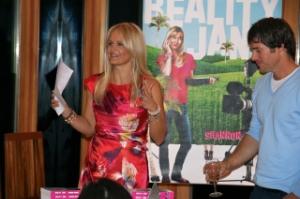 Giving my speech, Josh by my side!