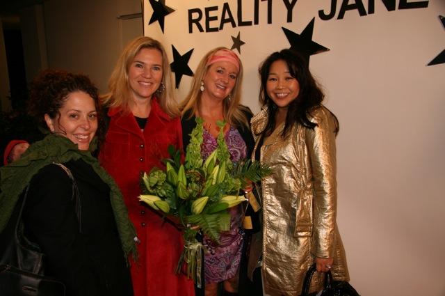 Karina, Kristen, Joanne, Helen -- Looking fab!