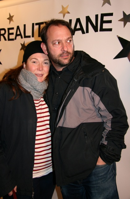 David (producer dude) and Alana!
