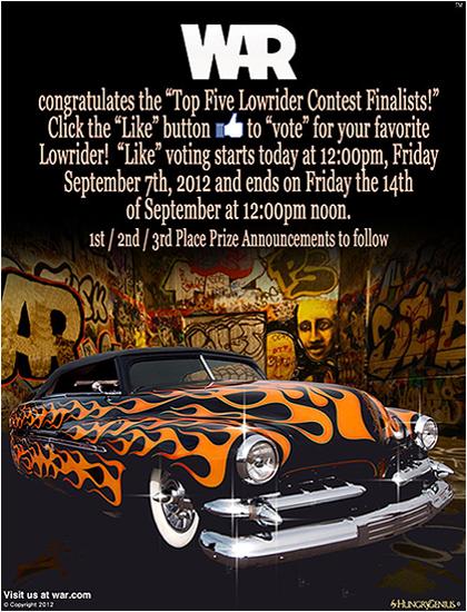 WAR Lowrider Contest.jpg