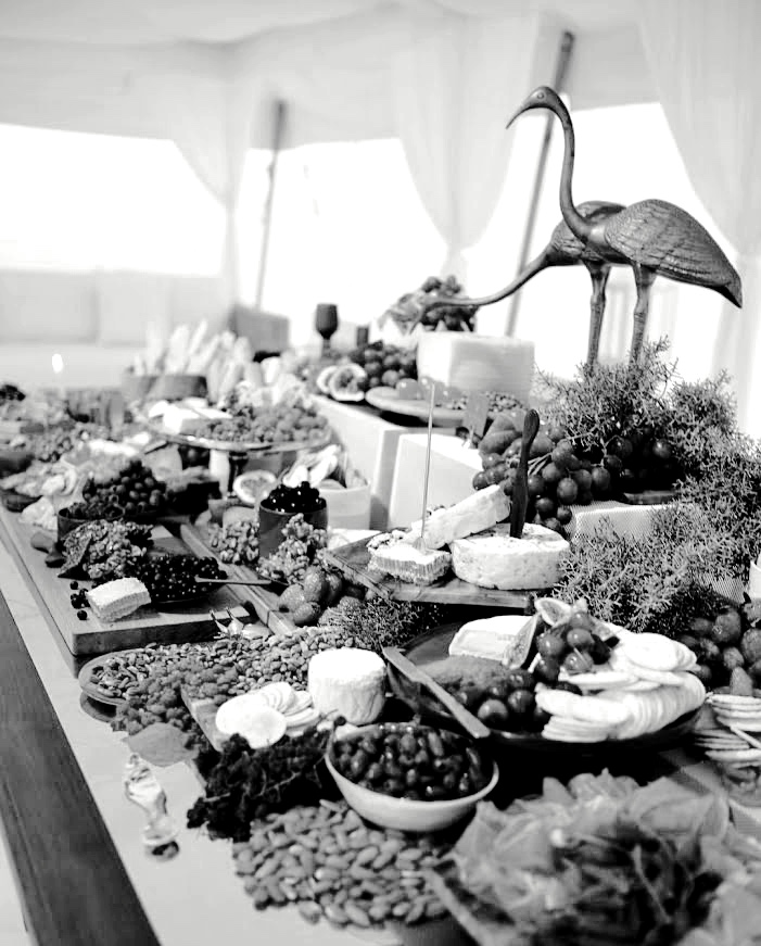 Grazing Table by  Tiffany Keal Creative Studio  | Image  Aesthete Collective