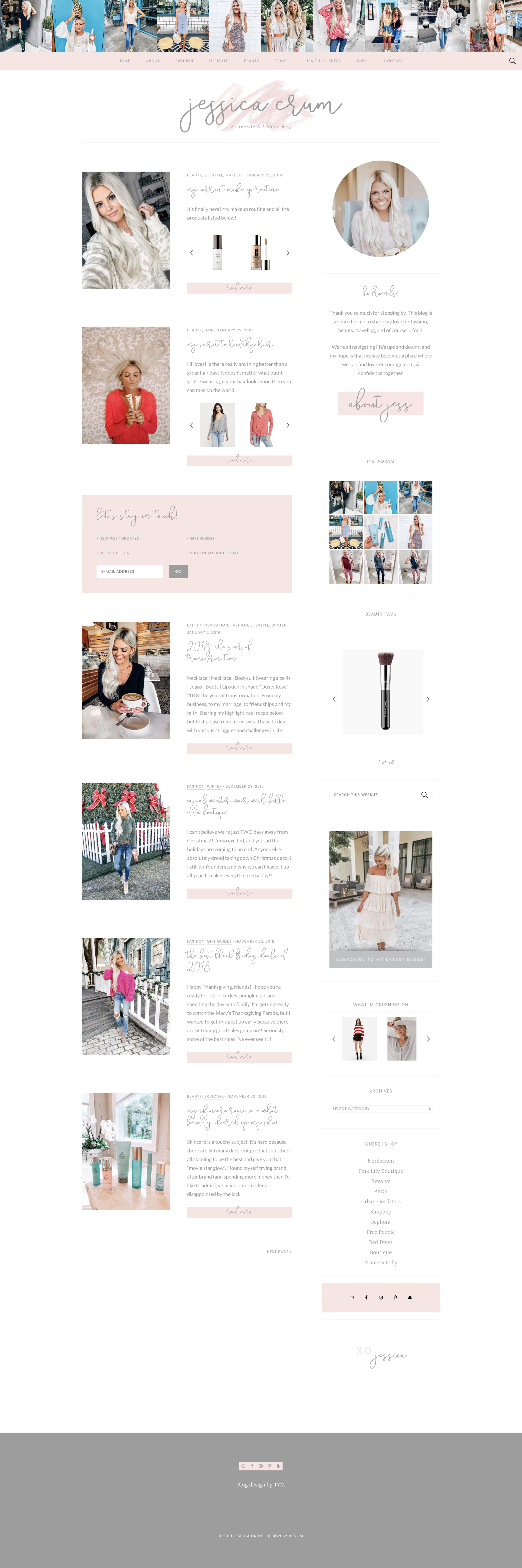 Jessica Crum Homepage Trek Your Market
