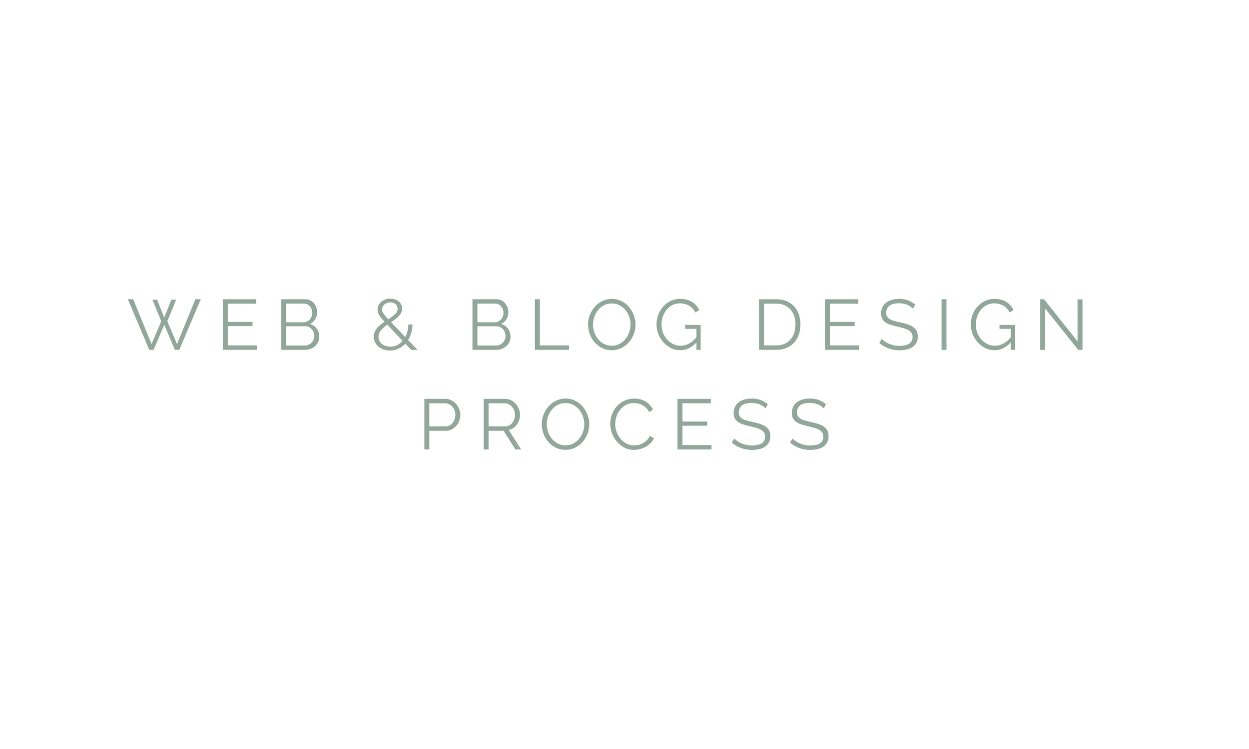 web & blog design