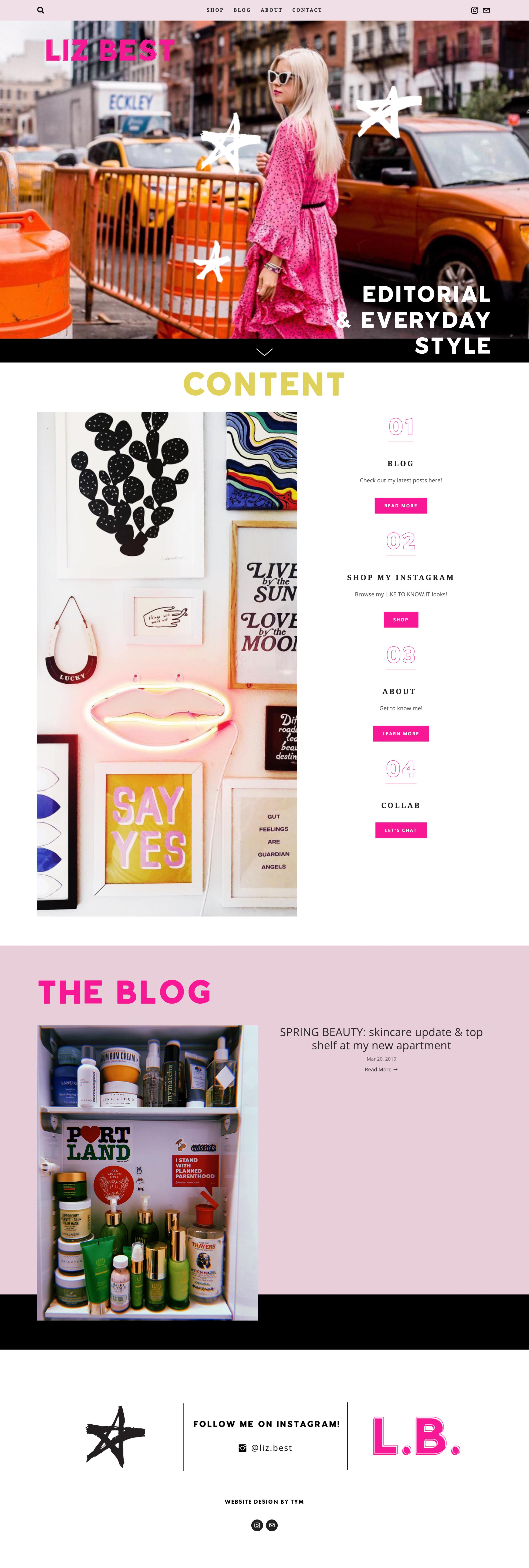 Liz Best Blog by trek your market