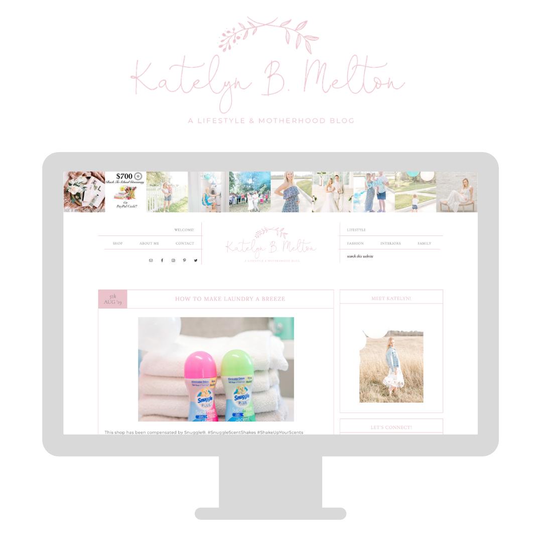Katelyn B Melton Blog Launch