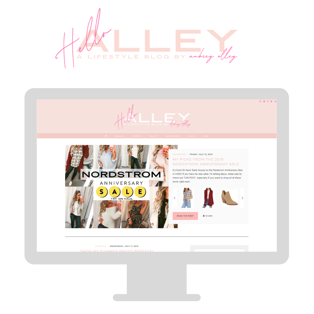 Hallo Alley Blog Launch