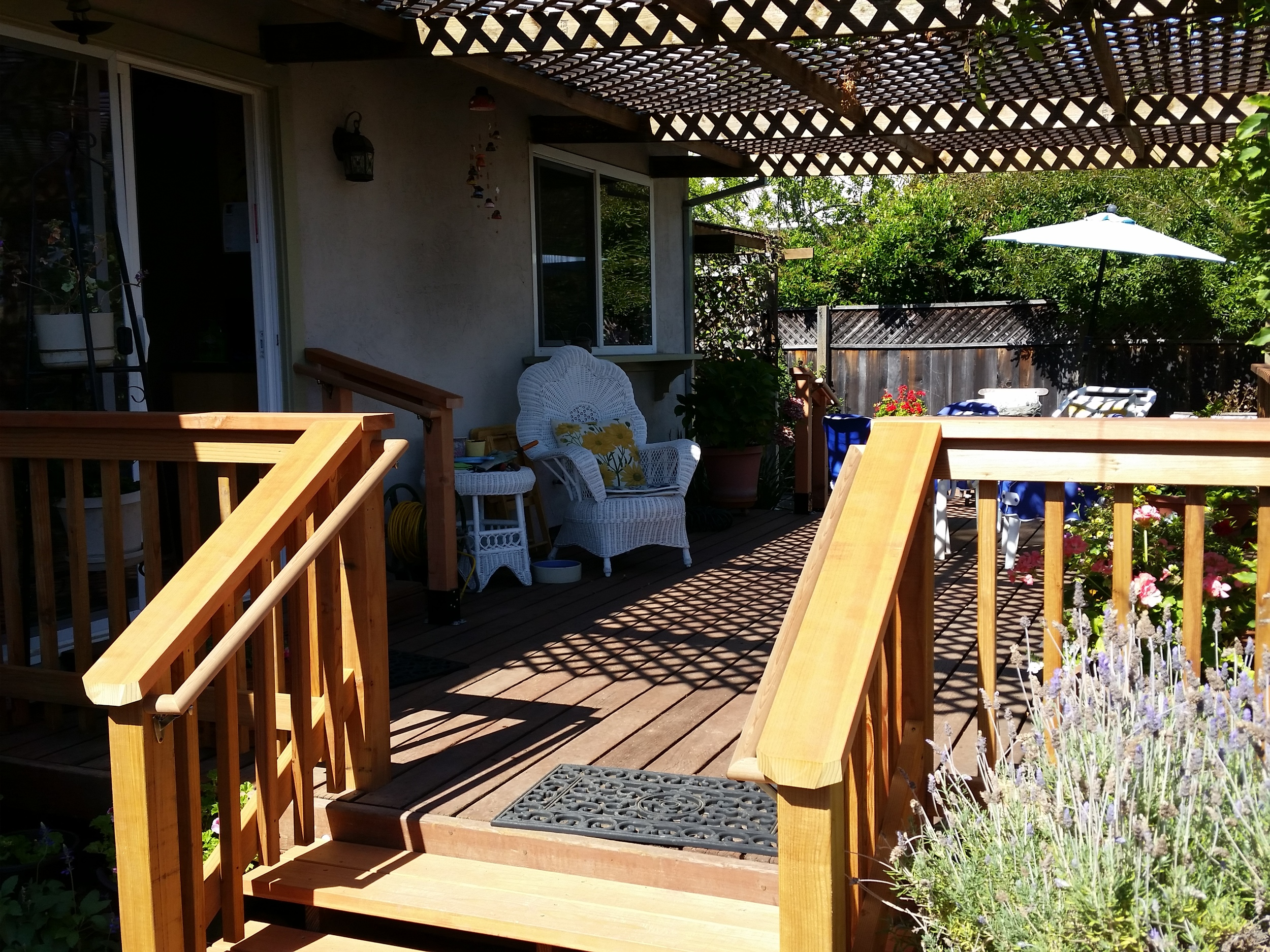 Aging-in-Place Custom Handrails and Stairs - Novato, CA
