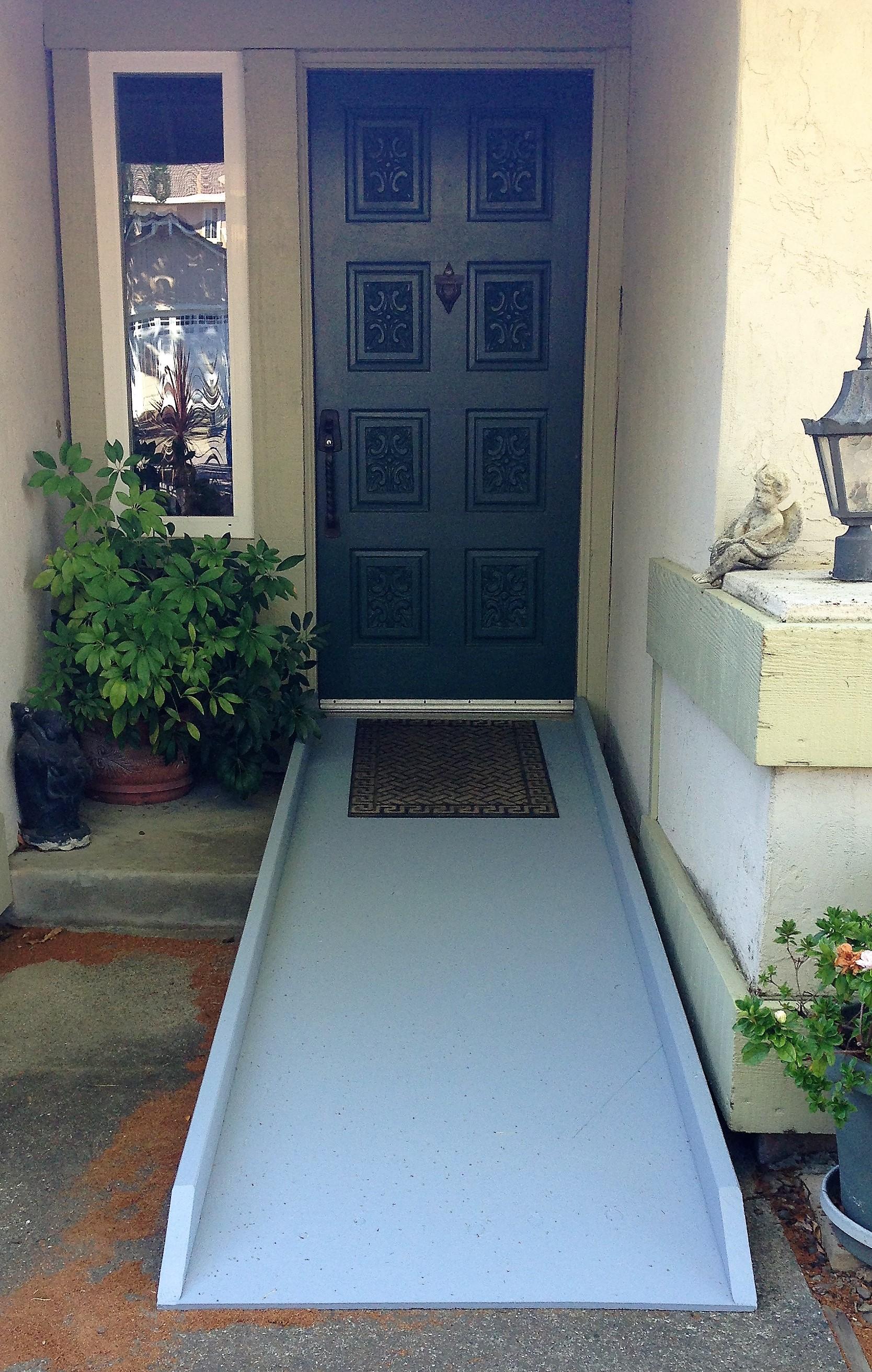 Custom Accessibility Ramp - Novato, CA