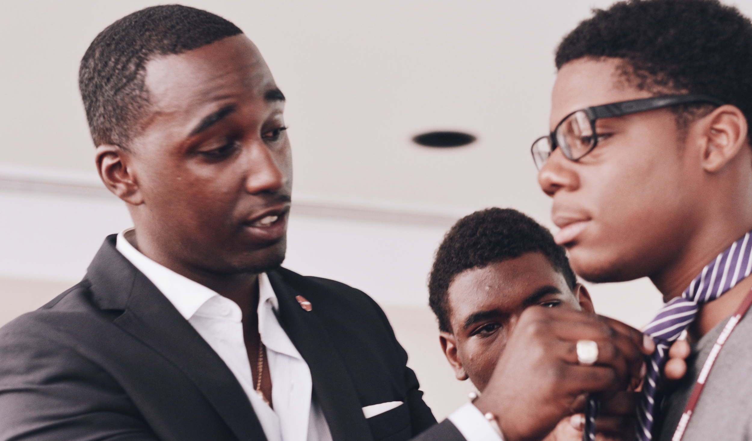 Dress For Success Workshops - TPG travels around the country speaking to students and adults of all ages about his 3 Step-Method on becoming The Perfect Gentleman.